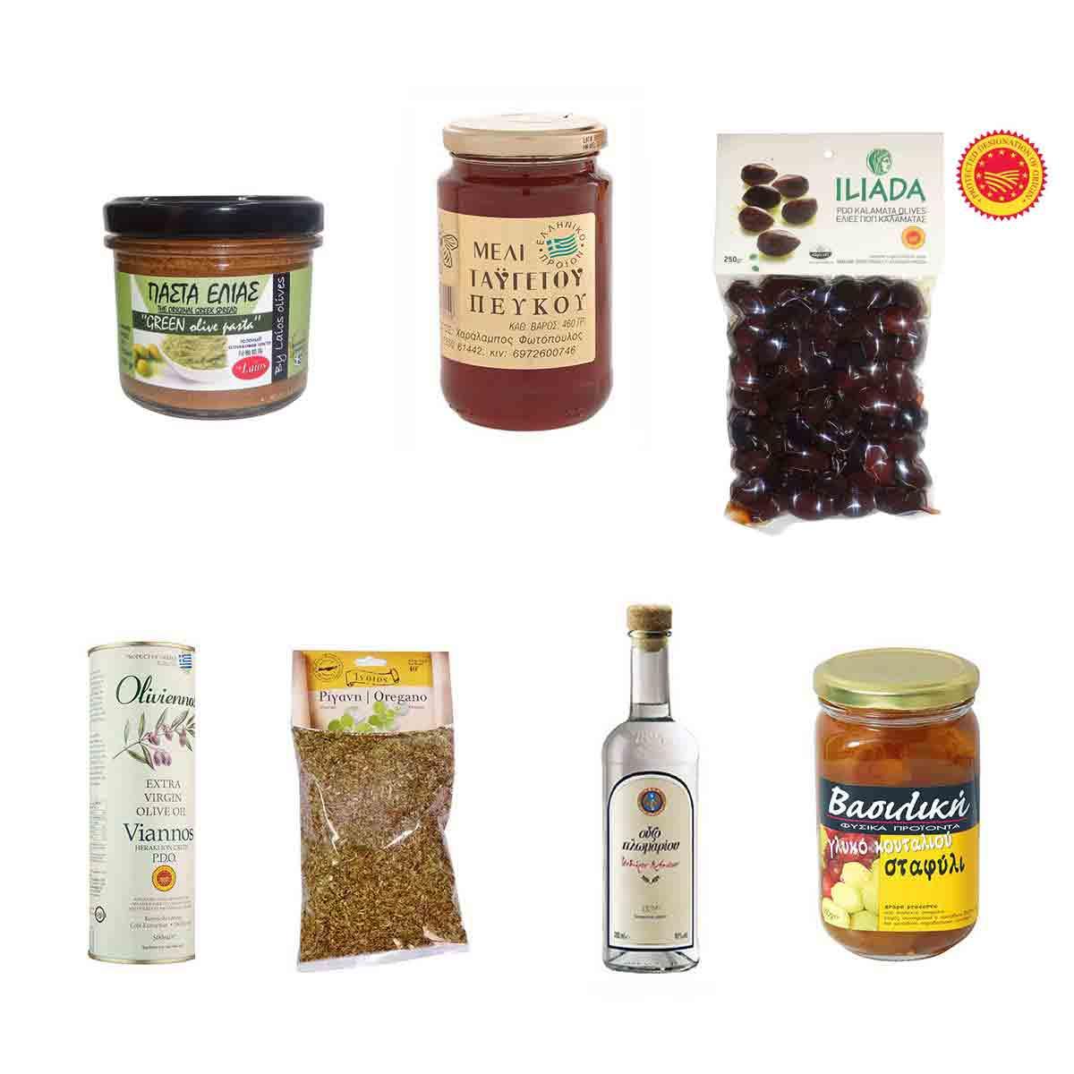 Καλαθάκι με 7 προϊόντα Νο 9