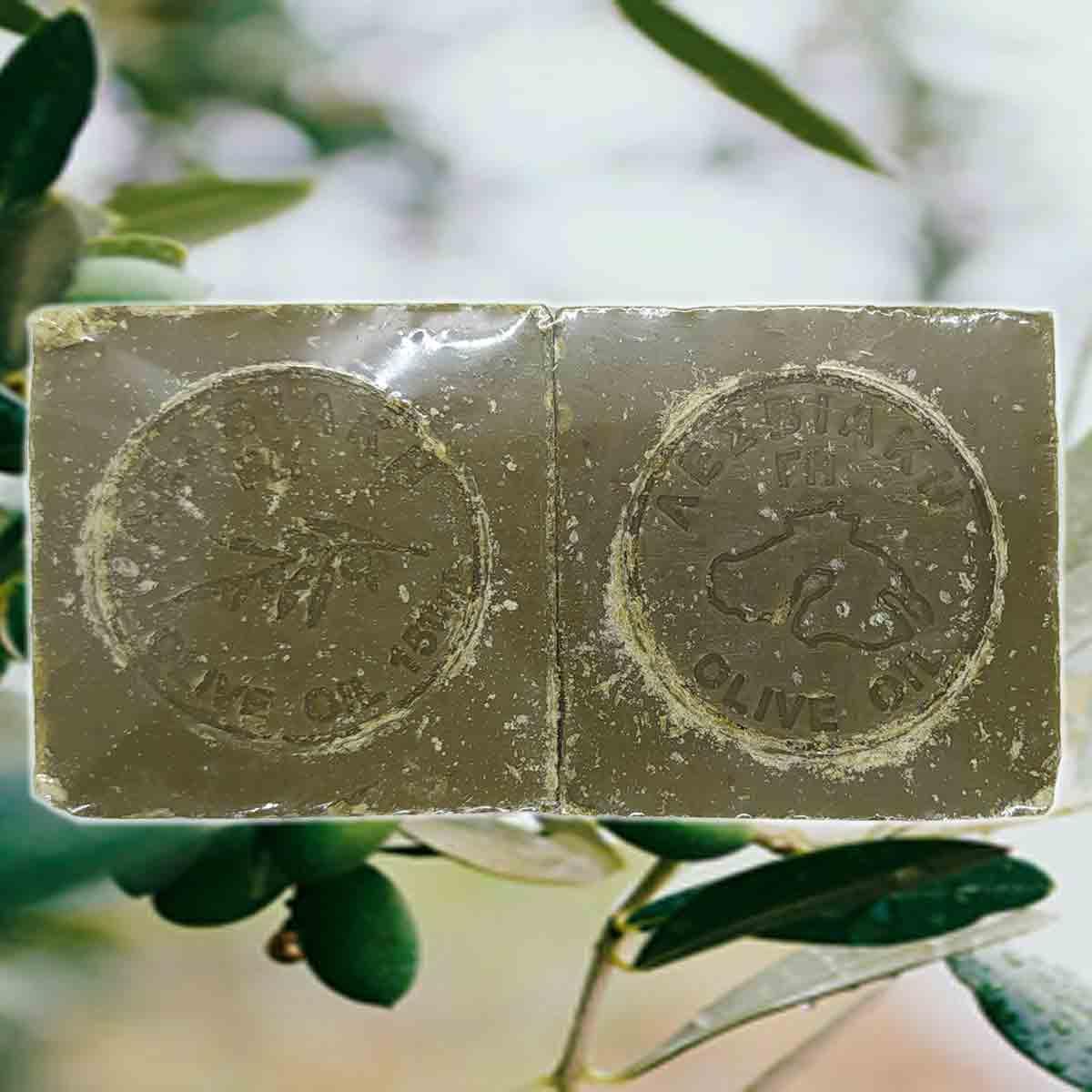 Green Natural Olive Oil Soap