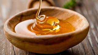 Honey in a pot