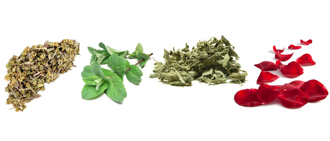 ITHACA tea, herbs