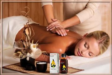 Massage with St. John's Wort Oil