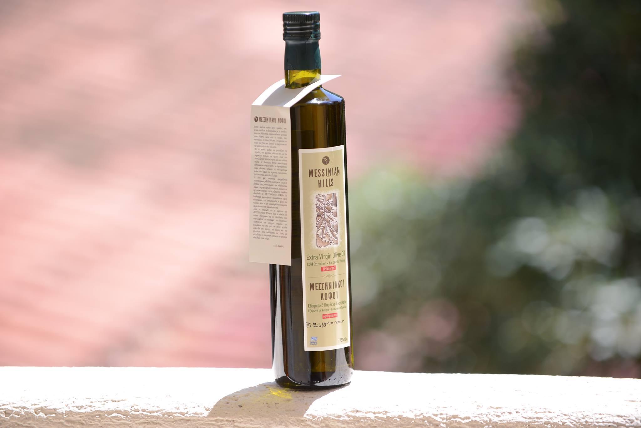 """Messinian Hills"" Extra Virgin Olive Oil"