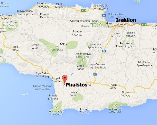 Phaistos - Kreta