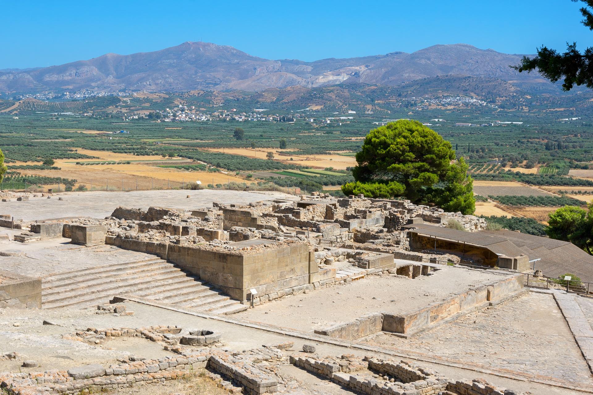 Archäologische Stätte in Phaistos