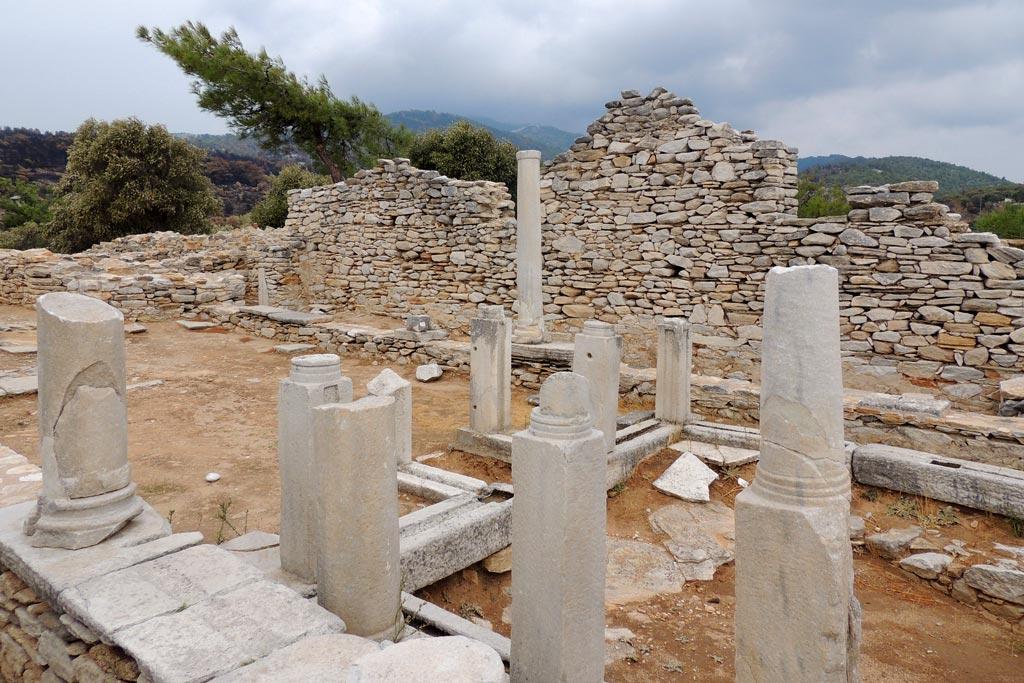 Archäologische Stätte aus Thassos