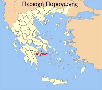Χάρτης Αίγινας