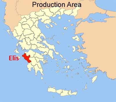 Karte von Elis