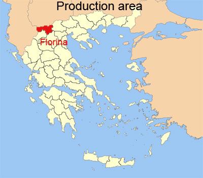 Karte von Florina