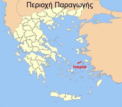 Χάρτης Ικαρίας