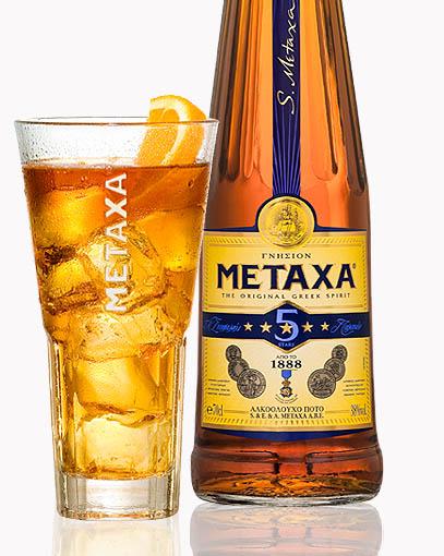 Metaxa longdrink